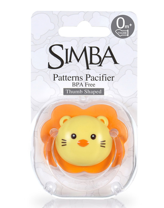 Simba Thumb Shaped Pacifier (0+M)