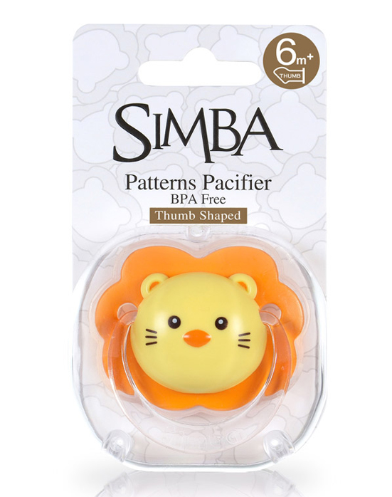 Simba Thumb Shaped Pacifier (6+M)