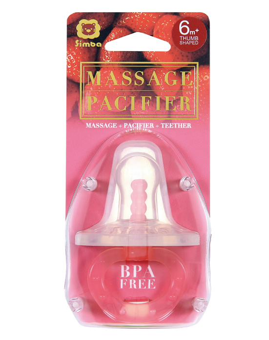 Thumb Shape Massage Pacifier (6+M)