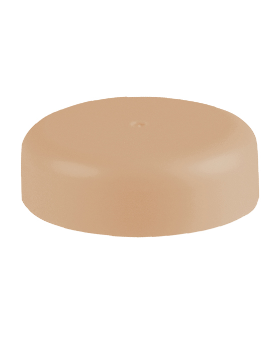 Wide Neck Macaron Lid - Brown