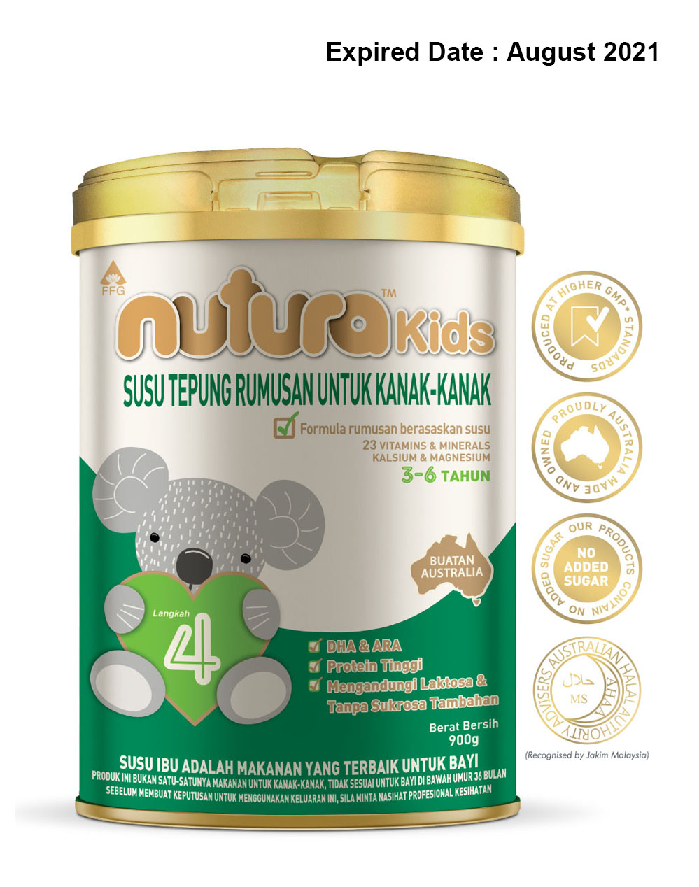 nuturaKids Stage 4 Follow-on Formula (36 months+)