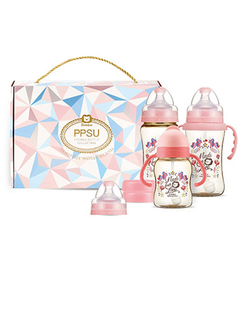 Dorothy Wonderland PPSU Feeding Bottle Collection - Pink