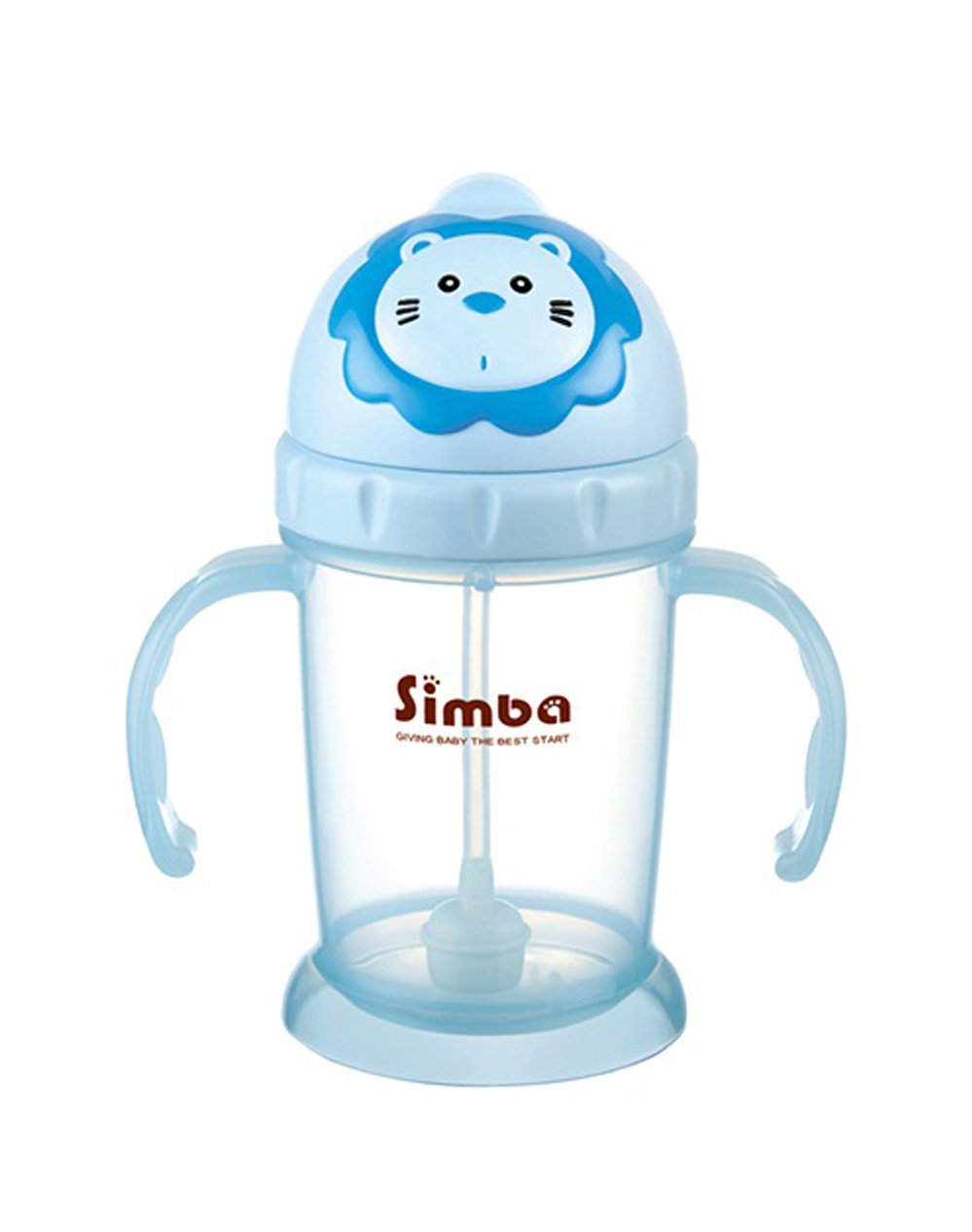 Simba Flip-it Straw Training Cup - vanilla (Blue)