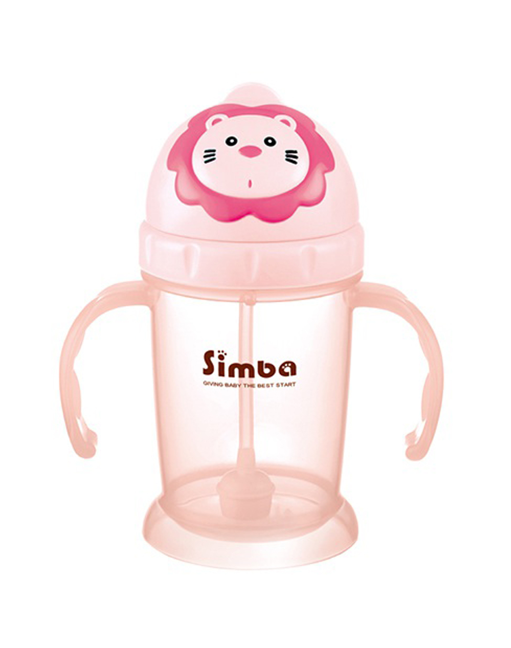 Simba Flip-it Straw Training Cup - berry (Pink)